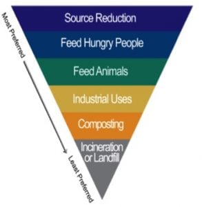 Waste Food Pyramid