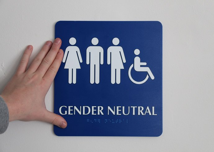 California Restroom Sign Law Effective March Carlsbad Chamber Of - Gender neutral bathrooms california